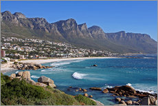 Gallery print  Camps Bay, Cape Town, South Africa - wiw