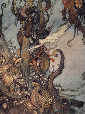 Gallery print  Andersen: Little Mermaid - Edmund Dulac