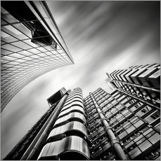 Gallery print  Lloyds London | 01 (black/white) - Frank Wächter