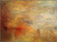 Gallery print  Sunset over a lake - Joseph Mallord William Turner