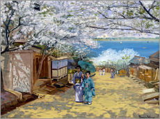 Gallery print  Cherryblooms in sunshine - Theodore Wores