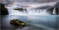 Gallery print  Godafoss Waterfall in Iceland - Andreas Wonisch