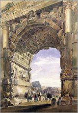 Gallery print  Arch of Titus, Rome, 1842 - Thomas Hartley Cromek