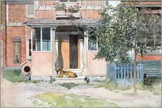 Gallery print  The Verandah - Carl Larsson