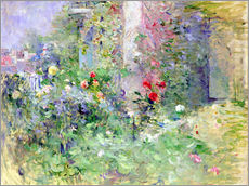 Naklejka na ścianę  The Garden at Bougival - Berthe Morisot