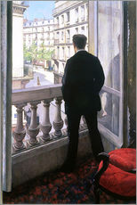 Naklejka na ścianę  Man at the Window - Gustave Caillebotte