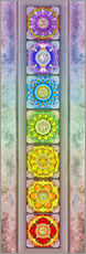 Gallery print  The Seven Chakras - Series III -Artwork II - Dirk Czarnota
