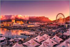 Gallery print  Victoria & Alfred Waterfront, Cape Town, South Africa - Stefan Becker