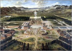 Gallery print  Castle and gardens of Versailles - Pierre Patel