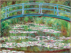 Naklejka na ścianę  Waterlily pond - Claude Monet