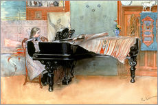 Gallery print  The scale - Carl Larsson