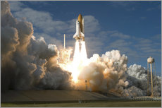 Gallery print  Space shuttle Atlantis lifts off