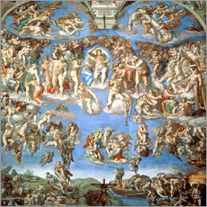 Gallery print  The Last Judgement - Michelangelo
