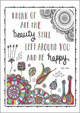 Gallery print  Anne Frank Quote - Susan Claire