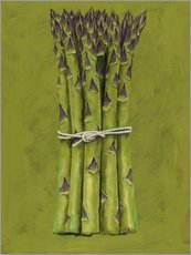 Gallery print  Asparagus bunch - Brian James