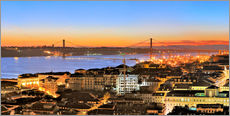 Gallery print  Panorama of Lisbon Portugal - FineArt Panorama