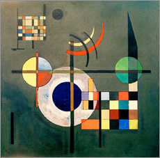 Gallery print  Counterweights - Wassily Kandinsky