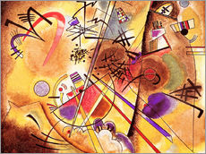 Naklejka na ścianę  Small dream in red - Wassily Kandinsky