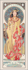 Gallery print  Moët & Chandon, Dry Imperial - Alfons Mucha