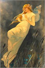 Gallery print  The Fairy - Alfons Mucha