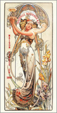 Plakat  Champagne Theophile Roederer & co - Louis Theophile Hingre