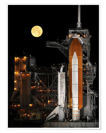 Plakat  Space shuttle Discovery