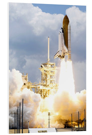 Obraz na PCV  Space shuttle Atlantis launches