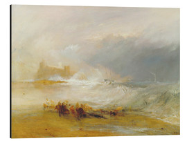 Obraz na aluminium  Wreckers - Coast of Northumberland - Joseph Mallord William Turner