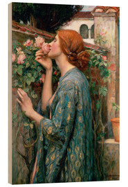 Obraz na drewnie  Zapach róży - John William Waterhouse
