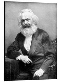 Obraz na aluminium  Portrait of Karl Marx - English Photographer