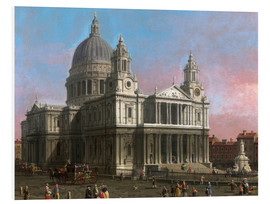 Obraz na PCV  St. Paul's Cathedral - Antonio Canaletto