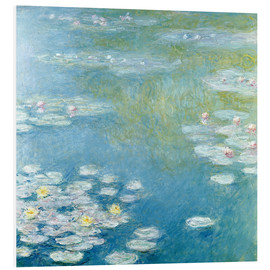 Obraz na PCV  Nympheas at Giverny - Claude Monet