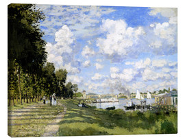 Obraz na płótnie  The Marina at Argenteuil - Claude Monet
