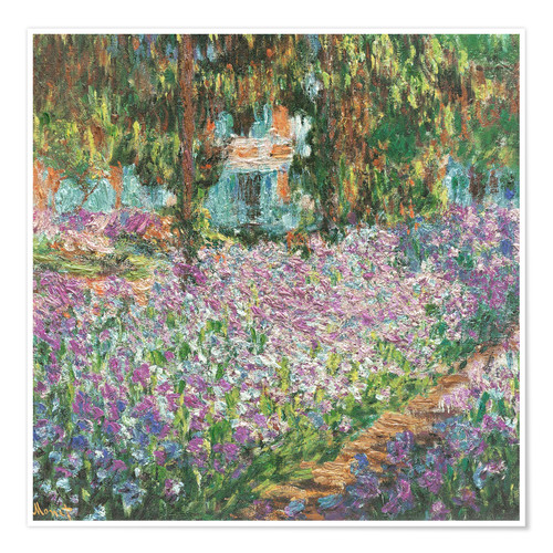 Plakat The Artist's Garden at Giverny