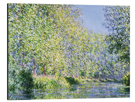 Obraz na aluminium  Bend in the Epte River near Giverny - Claude Monet
