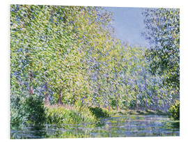 Obraz na PCV  Bend in the Epte River near Giverny - Claude Monet