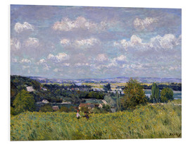 Obraz na PCV  The Valley of the Seine at Saint-Cloud - Alfred Sisley