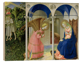 Obraz na drewnie  The Annunciation - Fra Angelico