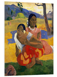 Obraz na PCV  When Will You Marry? - Paul Gauguin