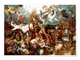 Plakat The fall of the rebel angels