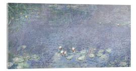 Obraz na szkle akrylowym  Waterlilies, Morning 2 - Claude Monet