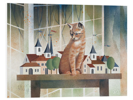 Obraz na PCV  View of the cat - Franz Heigl