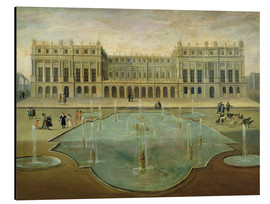 Obraz na aluminium  Chateau de Versailles from the Garden Side - French School