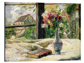 Obraz na aluminium  Vase of Flowers - Paul Gauguin