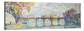 Obraz na aluminium  The Pont des Arts - Paul Signac