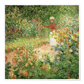 Plakat Monet's Garden in Giverny