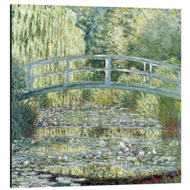 Obraz na aluminium  Water lily pond in green - Claude Monet