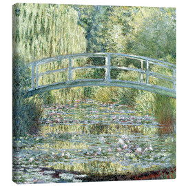 Obraz na płótnie  Water lily pond in green - Claude Monet