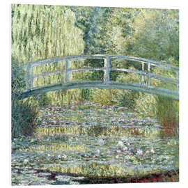 Obraz na PCV  Water lily pond in green - Claude Monet