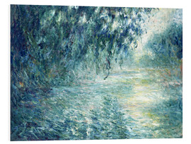 Obraz na PCV  Morning on the Seine - Claude Monet